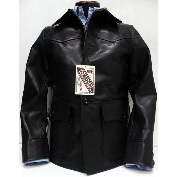 Y'2 Leather [HV Horse Car Coat] 1