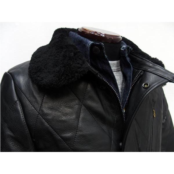 Y'2 Leather [Steer Oil Thinsulate Racing Jacket] 3
