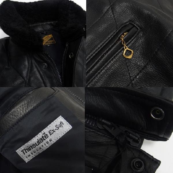 Y'2 Leather [Steer Oil Thinsulate Racing Jacket] 7
