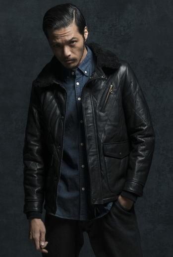 Y'2 Leather [Steer Oil Thinsulate Racing Jacket] 8