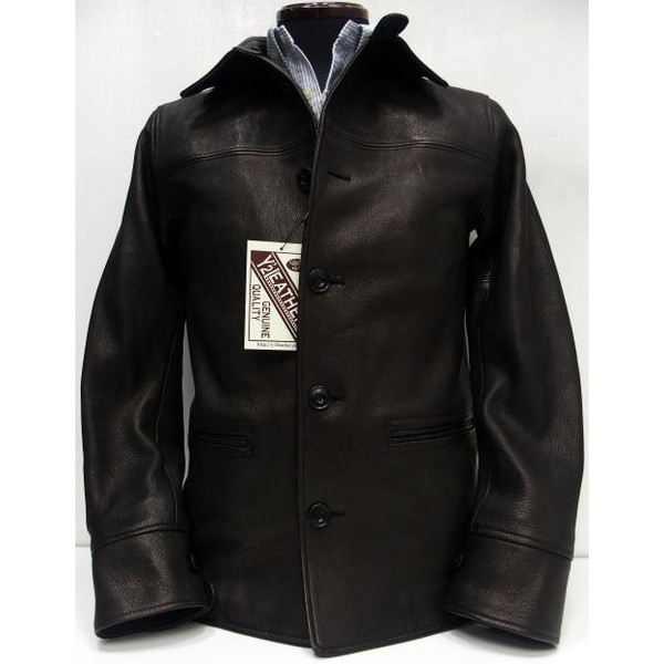 Y'2 Leather [Dear Skin 30's Car Coat] 1