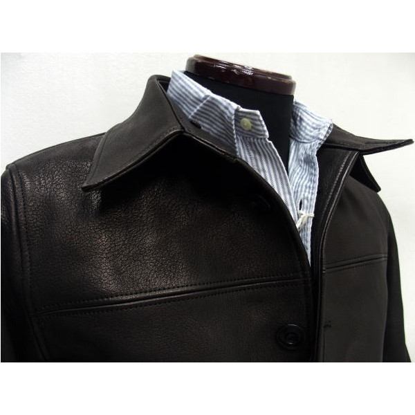 Y'2 Leather [Dear Skin 30's Car Coat] 2