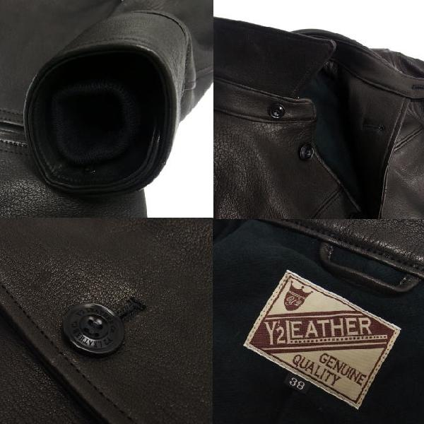 Y'2 Leather [Dear Skin 30's Car Coat] 7