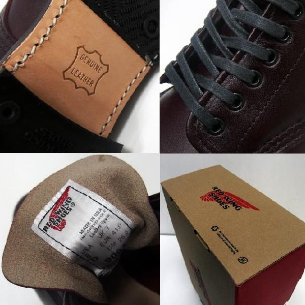 RED WING [Style No, 9091/Girard Boot/Black Cherry]7