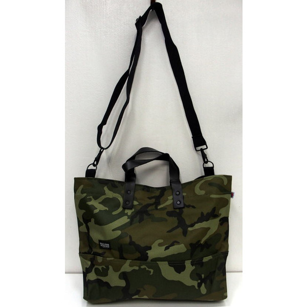 BLK PINE WORKSHOP [Camouflage Nylon Canvas Tote Bag/2-Way] 1