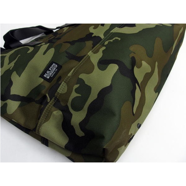 BLK PINE WORKSHOP [Camouflage Nylon Canvas Tote Bag/2-Way] 3