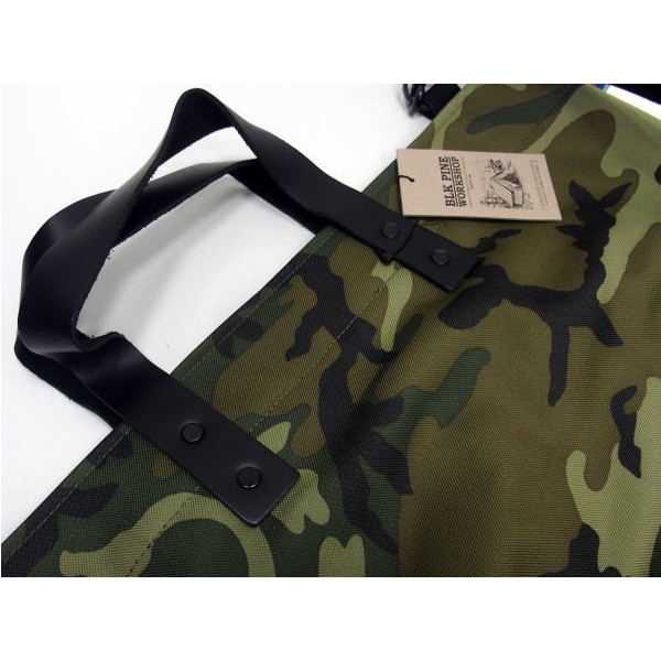 BLK PINE WORKSHOP [Camouflage Nylon Canvas Tote Bag/2-Way] 4