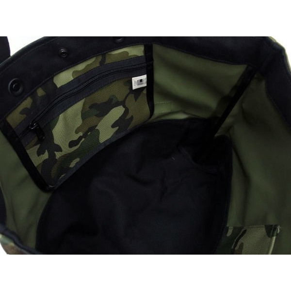 BLK PINE WORKSHOP [Camouflage Nylon Canvas Tote Bag/2-Way] 6