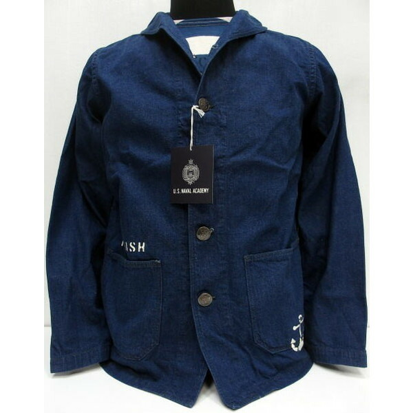 WAREHOUSE×U.S.NAVAL ACADEMY [DENIM DECK JACKET] 1