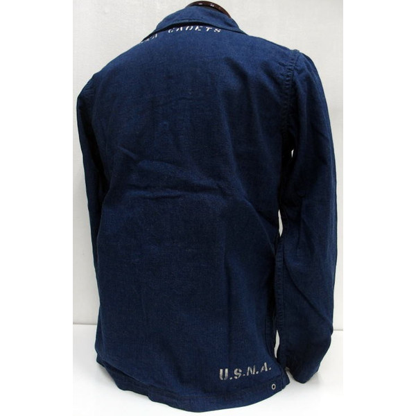 WAREHOUSE×U.S.NAVAL ACADEMY [DENIM DECK JACKET] 2