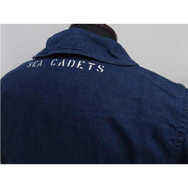 WAREHOUSE×U.S.NAVAL ACADEMY [DENIM DECK JACKET] 6