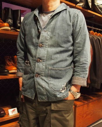 WAREHOUSE×U.S.NAVAL ACADEMY [DENIM DECK JACKET] 8