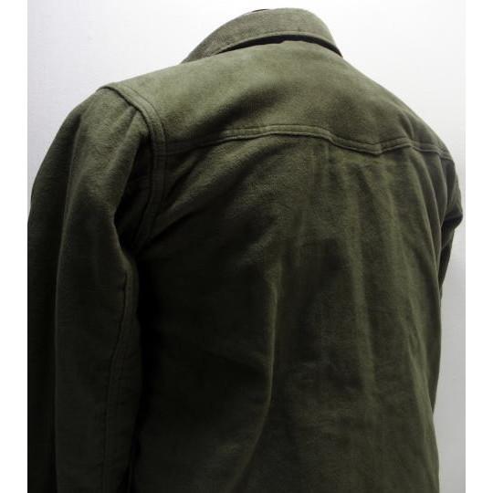 長袖シャツ コットンブランケットシャツ [COTTON BLANKET SHIRTS/Lot.3094] Duck Digger by WAREHOUSE 日本製! シャツジャケット Lot.3094