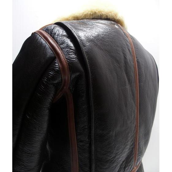 COLIMBO [B-6 Type Mouton Jacket/Side Zipper Model] 3