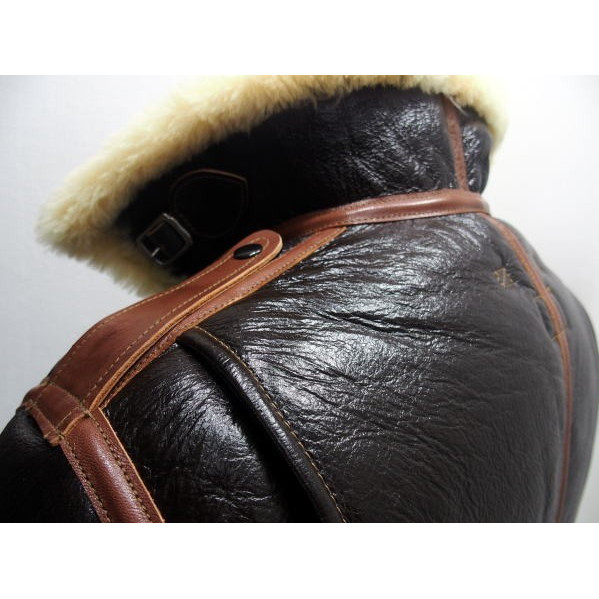 COLIMBO [B-6 Type Mouton Jacket/Side Zipper Model] 4