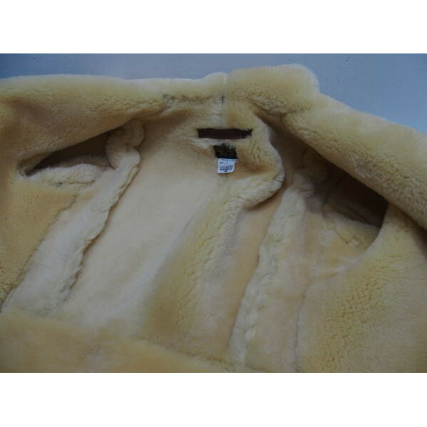 COLIMBO [B-6 Type Mouton Jacket/Side Zipper Model] 6