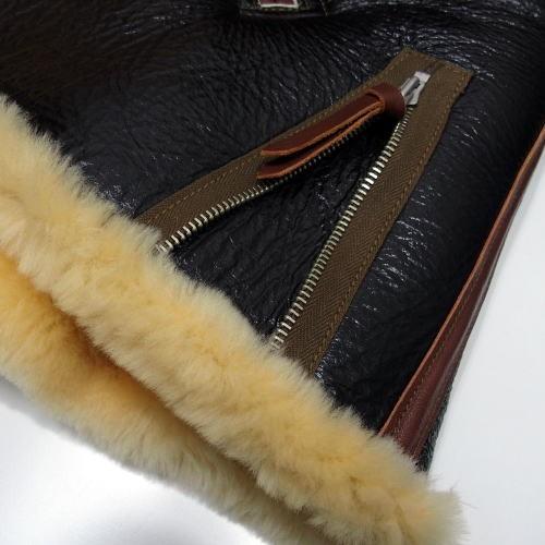 COLIMBO [B-6 Type Mouton Jacket/Side Zipper Model] 7