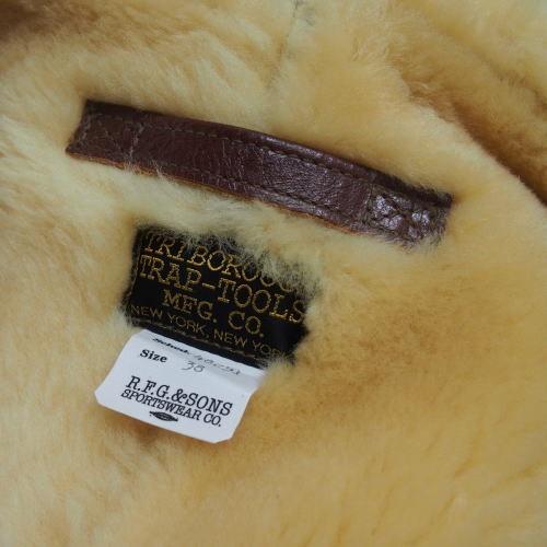 COLIMBO [B-6 Type Mouton Jacket/Side Zipper Model] 10