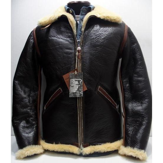 COLIMBO [B-6 Type Mouton Jacket/Side Zipper Model] 1