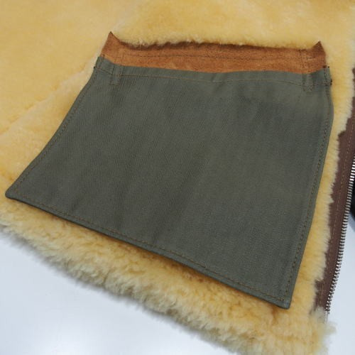 COLIMBO [D-1 Type Mouton Jacket/Monkey