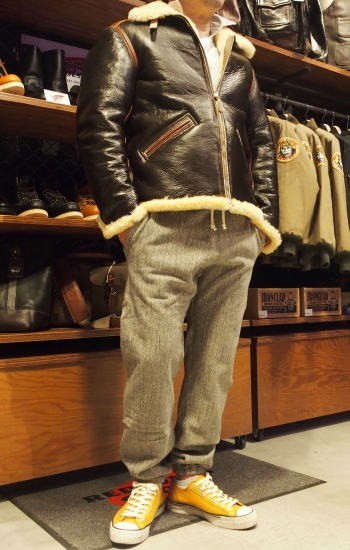 COLIMBO [B-6 Type Mouton Jacket/Side Zipper Model] 11