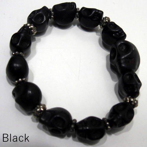 Butler Verner Sails [Colorful&Black Skull Stone Bracelet] 2
