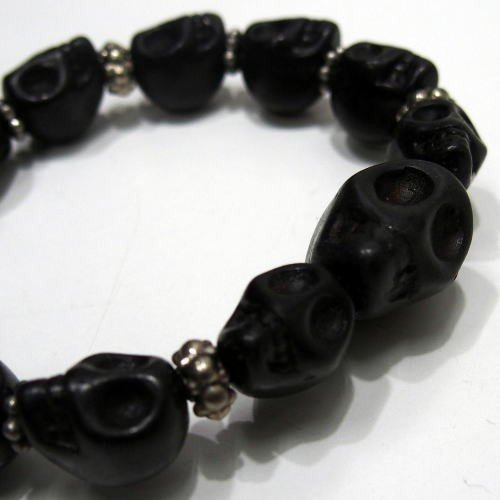 Butler Verner Sails [Colorful&Black Skull Stone Bracelet] 4