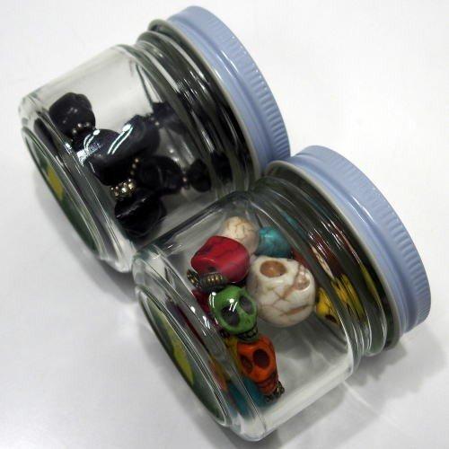 Butler Verner Sails [Colorful&Black Skull Stone Bracelet] 7