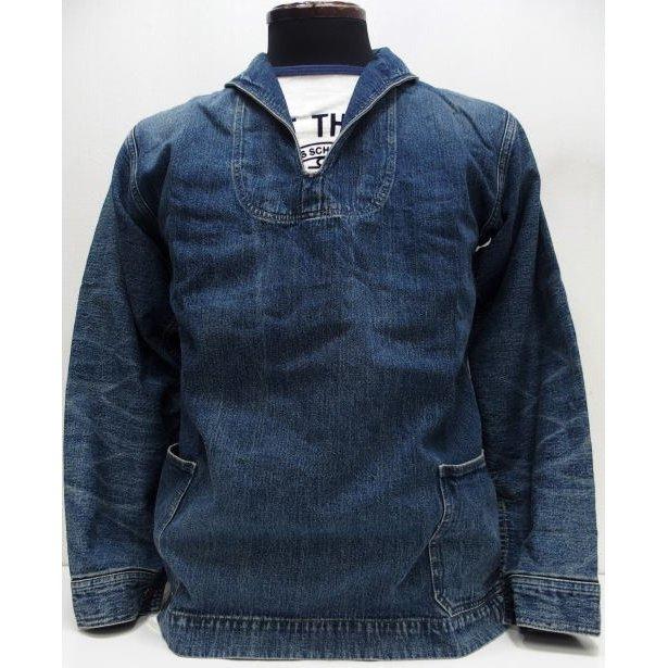 WAREHOUSE [Lot.2141 USN Denim Pullover Jacket] 1