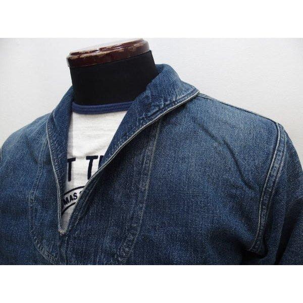 WAREHOUSE [Lot.2141 USN Denim Pullover Jacket] 3