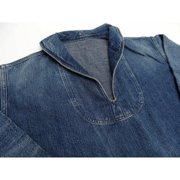 WAREHOUSE [Lot.2141 USN Denim Pullover Jacket] 6