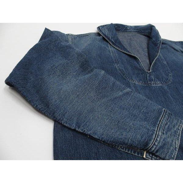 WAREHOUSE [Lot.2141 USN Denim Pullover Jacket] 7