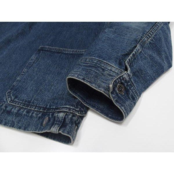 WAREHOUSE [Lot.2141 USN Denim Pullover Jacket] 8