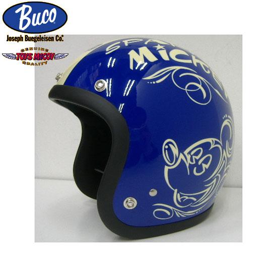 TOYS McCOY(トイズマッコイ)BUCO(ブコ)限定モデル[SPARKIN MICKEY]ミッキーマウスBLヘルメット1