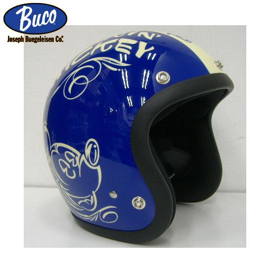 TOYS McCOY(トイズマッコイ)BUCO(ブコ)限定モデル[SPARKIN MICKEY]ミッキーマウスBLヘルメット2