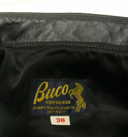 THE REAL McCOY'S(ザ・リアルマッコイズ)BUCO(ブコ)J-100 HORSE HIDE(ライダースジャケット) 7