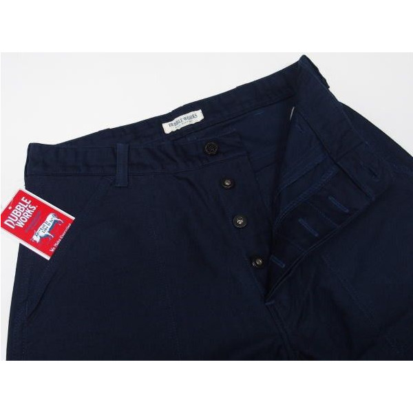 DUBBLE WORKS MILITARY PANTS [Lot.24002/ONE WASH]  3