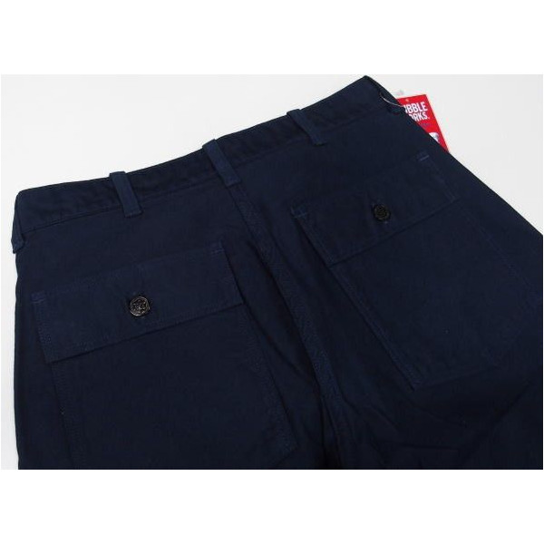 DUBBLE WORKS MILITARY PANTS [Lot.24002/ONE WASH] 4