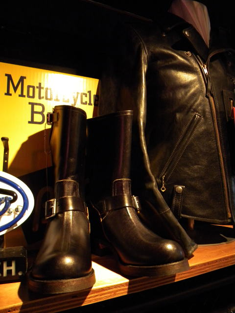 BUCO [HORSEHIDE ENGINEER BOOTS/BUTTOCK] 9