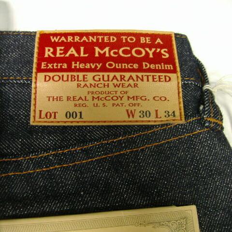 THE REAL McCOY'S Vintage DENIM [Lot. 001]  5
