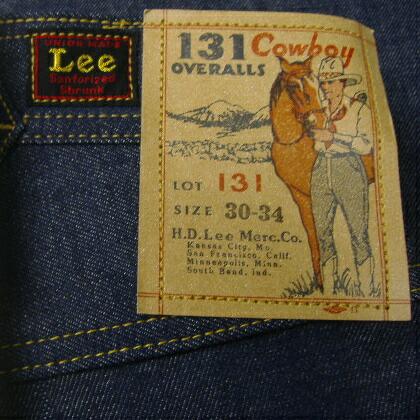 Lee Real Vintage[34' COWBOY MODELLot. 131] 4
