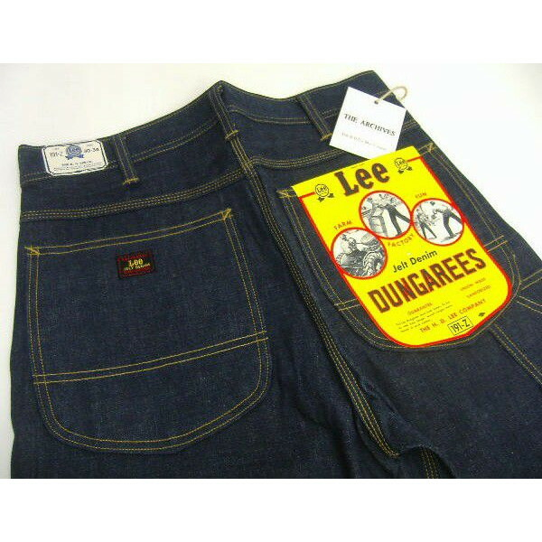 Lee Archive Real Vintage [Dungarees 191z] 3