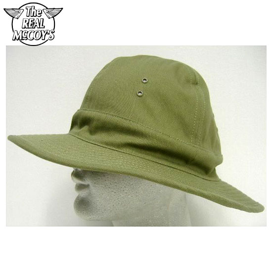 THE REAL McCOY'S(ザ・リアルマッコイズ)MILITARY ARMY HAT[H.B.T.]ミリタリーアーミーハット1