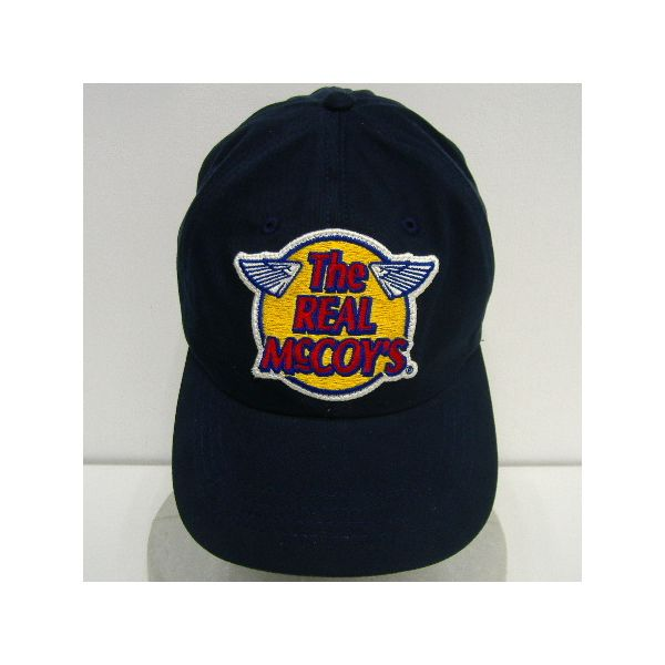 THE REAL McCOY'S[McCOY'S LOGO TWILL CAP]2