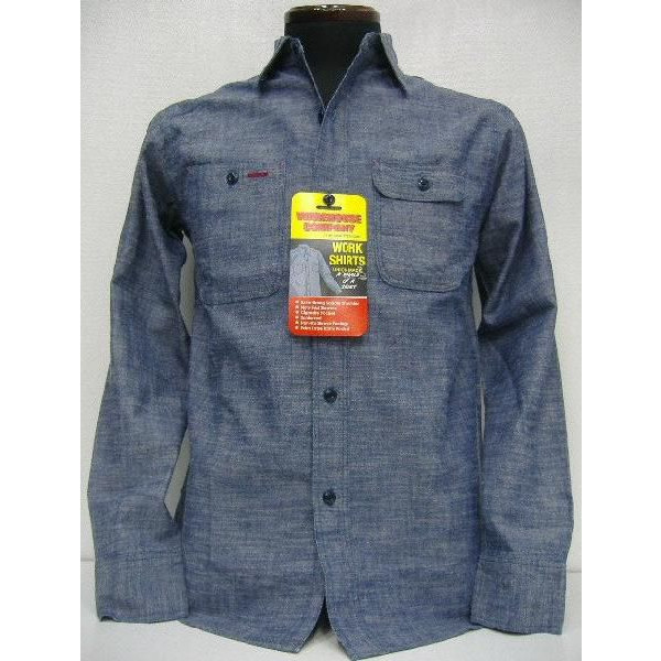 WAREHOUSE Original Vintage Chambray Shirts [Lot.3052] 1