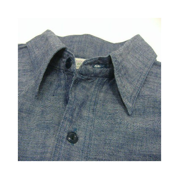 WAREHOUSE Original Vintage Chambray Shirts [Lot.3052] 3