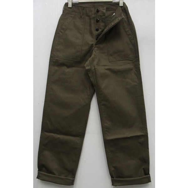 WAREHOUSE [Military Pants/Herringbone Cross Lot.1086] 1