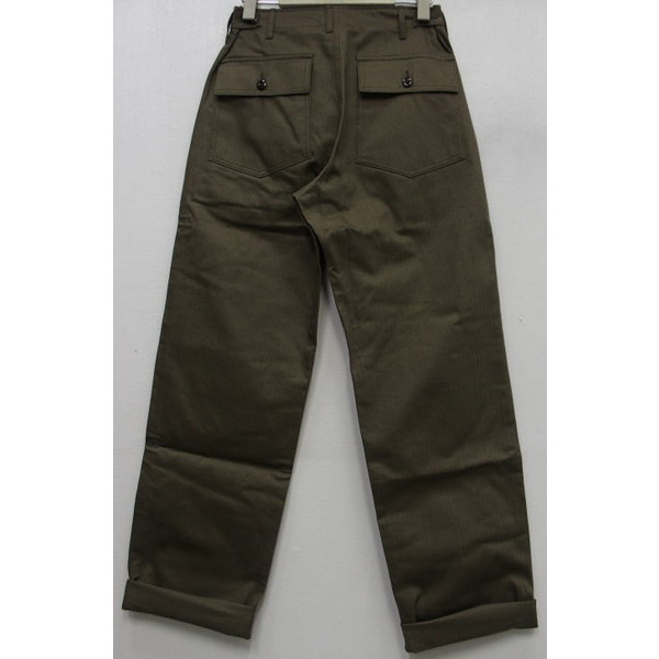 WAREHOUSE [Military Pants/Herringbone Cross Lot.1086] 2