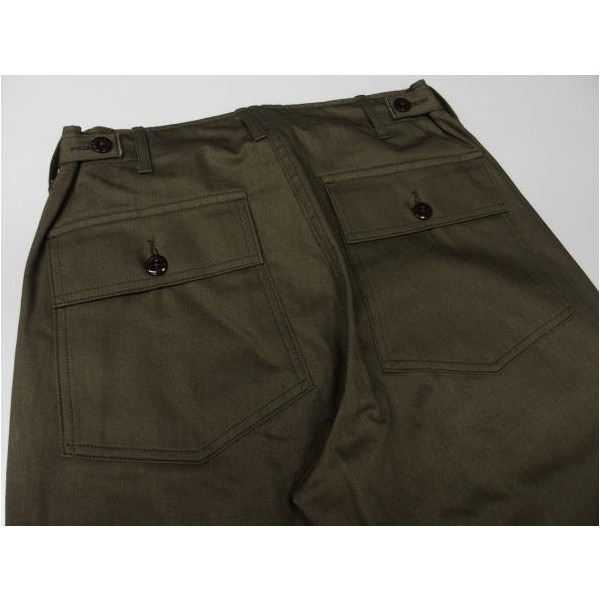 WAREHOUSE [Military Pants/Herringbone Cross Lot.1086] 4