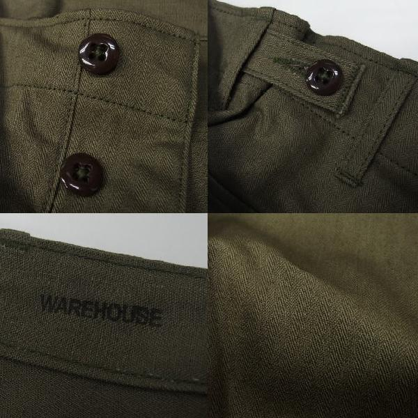 WAREHOUSE [Military Pants/Herringbone Cross Lot.1086] 7